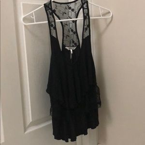 Kira top black lace from pacsun! Small!